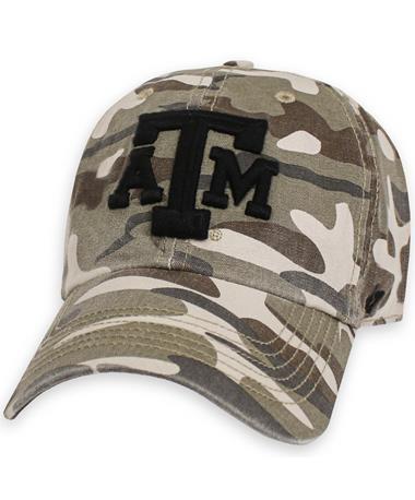 Texas A&M `47 Brand Granto OHT Cap - Front Camo
