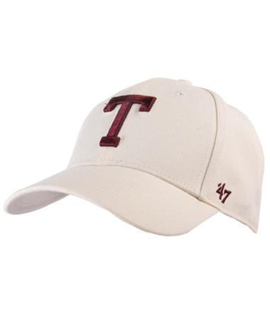 `47 Brand 2018 Block T Texas A&M MVP Hat-Front Natural