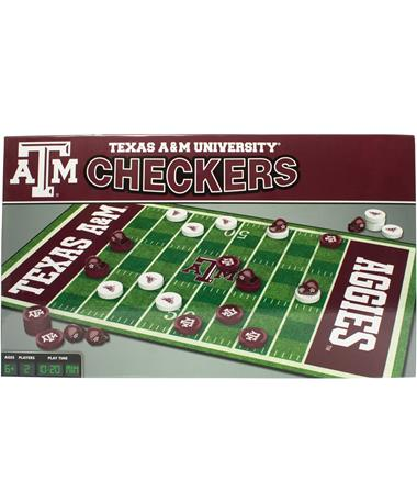 Texas A&M Football Checkers