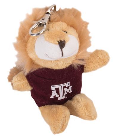 Texas A&M Wild Bunch Lion Keychain Maroon