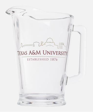 Texas A&M College Station Skyline Pitcher Maroon/Gold