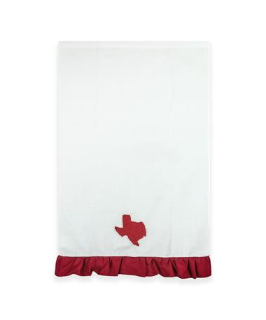 Texas French Knot Hand Towel