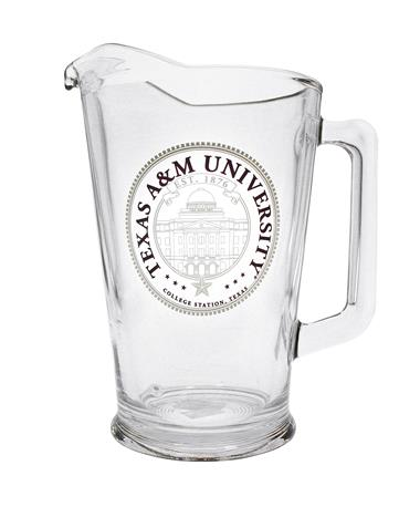 Texas A&M EST 1876 Maroon & Gold Pitcher - Front Maroon/Gold