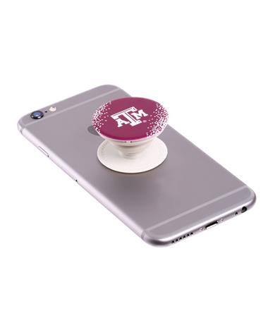 Texas A&M Popsocket Maroon/White