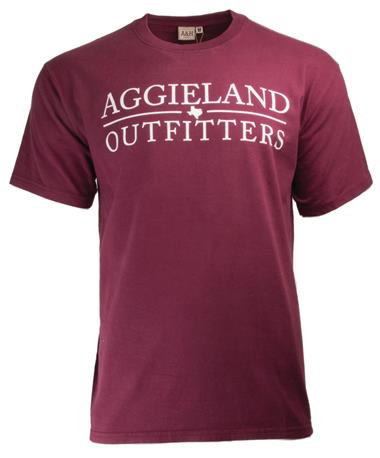 2018 New Student Aggieland Outfitters T-Shirt Maroon Front Maroon