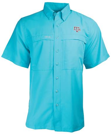 Mens GameGuard MicroFiber Shirt River Blue