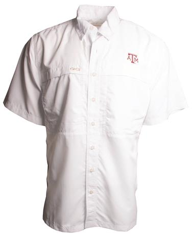 Mens GameGuard MicroFiber Shirt-front White