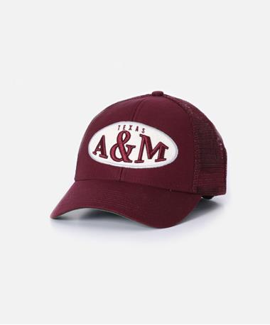 Adidas Texas A&M Patchwork Adjustable Cap Front Maroon