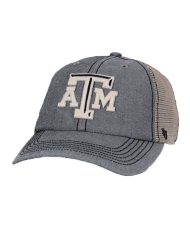 `47 Brand Texas A&M Starboard Closer Cap Front Dark Khaki