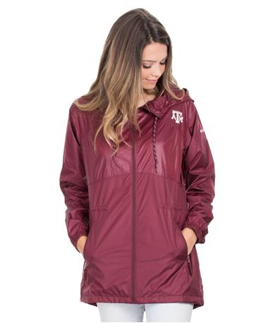 Texas A&M Columbia Flashback Windbreaker - Front Maroon