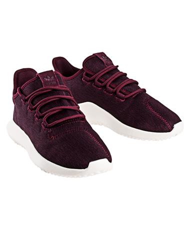 2018 Adidas Womens Tubular Tennis Shoes - Maroon - Pair Maroon