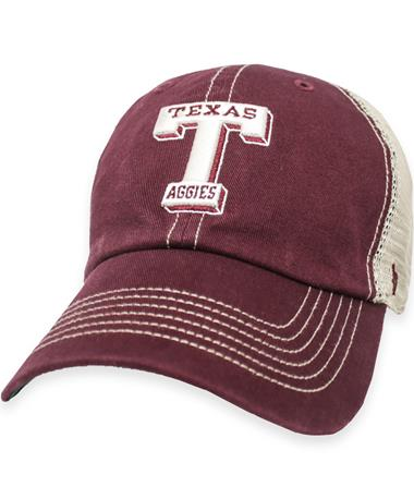 Texas A&M `47 Brand Sarge Trawler Clean Up Hat Maroon