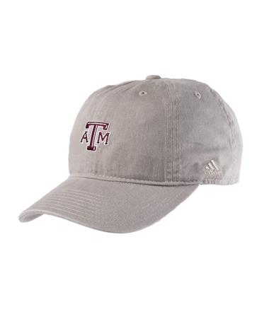 Adidas 2018 Texas A&M Aggie Dad Hat Front Stone