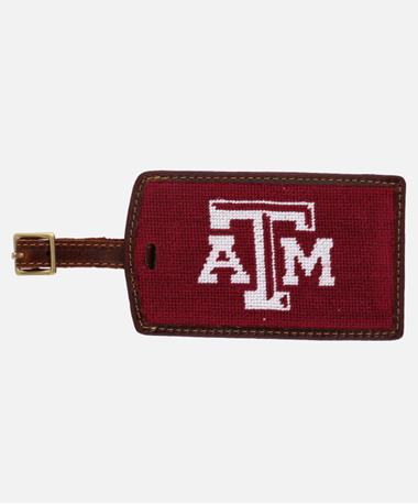 Smathers Branson Texas A M Luggage Tag Maroon