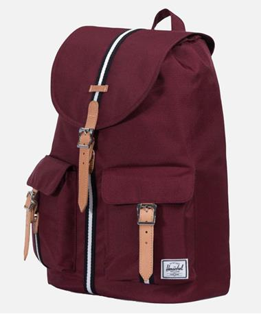 Herschel Dawson Backpack - Maroon - Front Windsor Wine