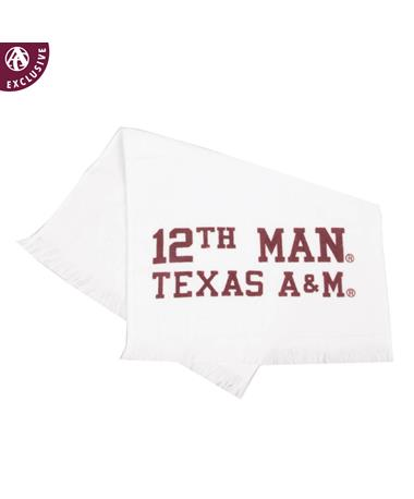 Texas A&M Aggie 12th Man Towel
