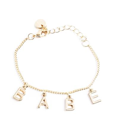 Babe Bracelet - Gold Gold