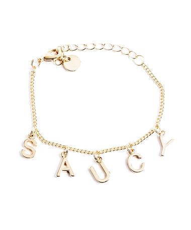 Saucy Bracelet - Gold Gold