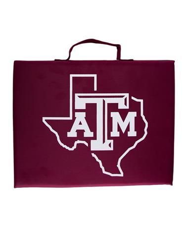 Texas A&M Bleacher Cushion Seat Maroon