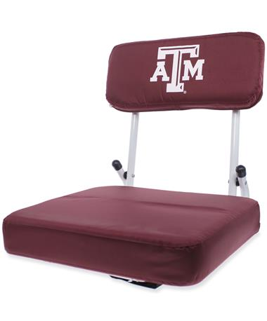 Texas A&M Hard Back Stadium Seat