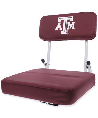 Texas A&M Hard Back Stadium Seat