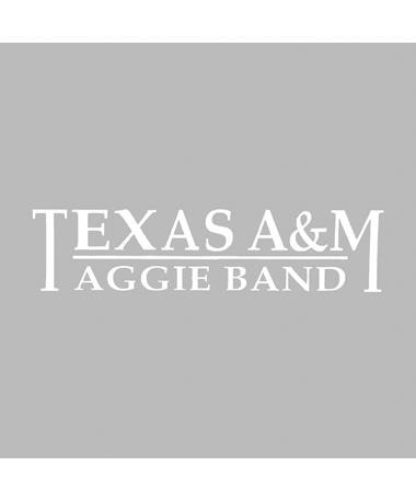 Texas A&M Aggie Band Decal
