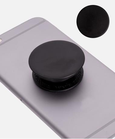 Black Aluminum PopSocket Black Aluminium