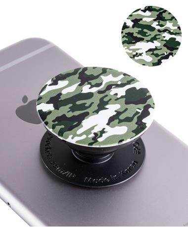 Dark Green Camo PopSocket