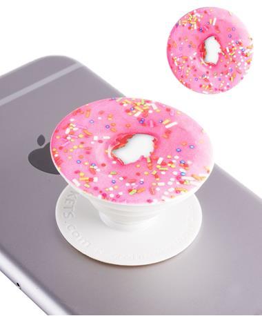 Pink Donut PopSocket Pink Donut