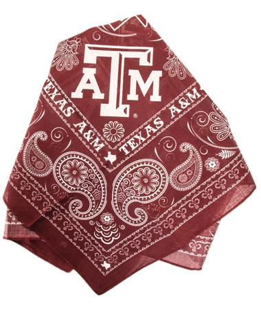 Texas A&M Aggie All-Purpose Bandana Maroon