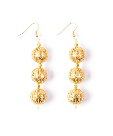 Globetrotter Loopettes Bali Earring Gold