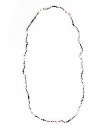 The Jaxon Loop Necklace - Slate Slate