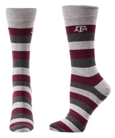 Texas A&M Aggies Defend Socks Stripes STRIPES