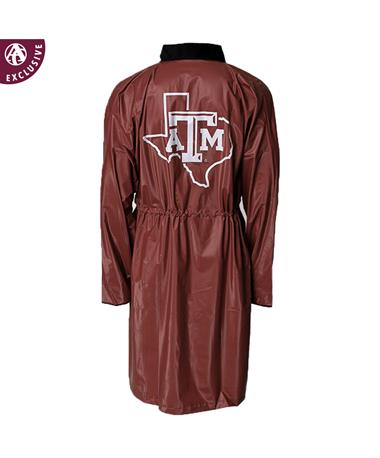 Texas A&M Aggie Lone Star Maroon Poncho