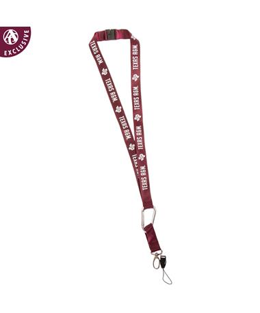 Texas A&M Aggie Lone Star Lanyard