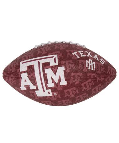 Texas A&M Junior Size Gridiron Football Maroon Panel Maroon
