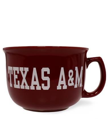 Texas A&M Collegiate Bowl with White Interior