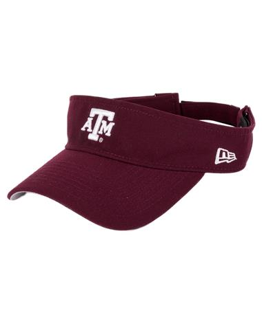 Texas A&M Aggie New Era Essential Visor - Front Maroon