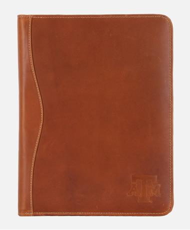 Canyon Texas A&M Salt River Folder - Tan - Front Tan