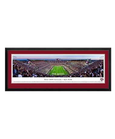 Texas A&M Kyle Field Panoramic Deluxe TXAM4 Dusk