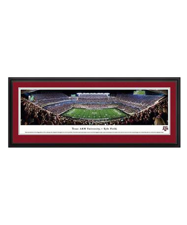 Texas A&M Kyle Field Panoramic Deluxe TXAM5 Night