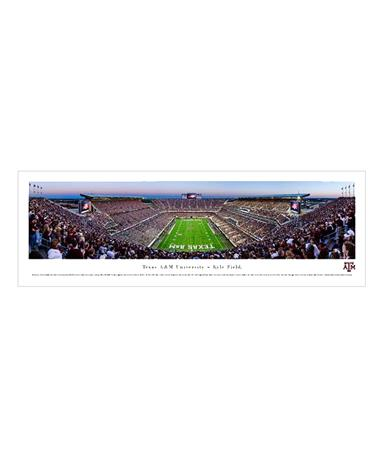 Texas A&M Kyle Field Tubed Panorama