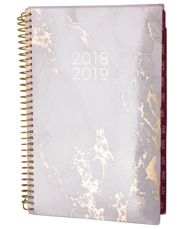 2018-19 Classic Planners-front Marble
