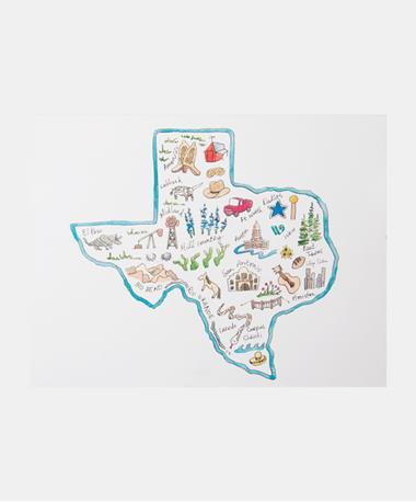 Single Note Card - Texas Icon Texas Icon