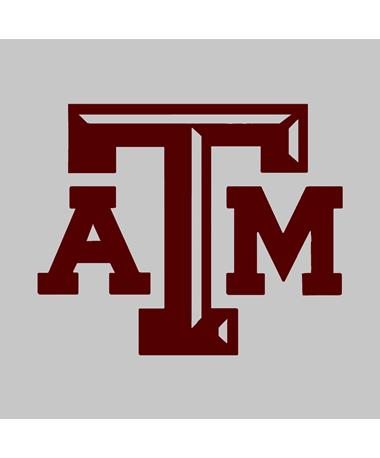 Texas A&M Medium Beveled Maroon Decal