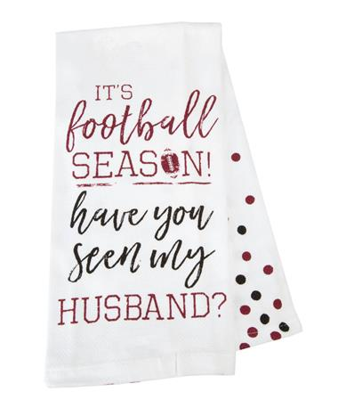 It`s Football Season Tea Towel Football