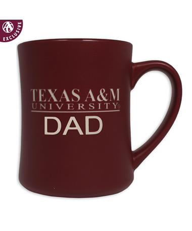 Texas A&M Dad Matte Diner Mug