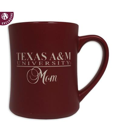 Texas A&M Mom Matte Diner Mug