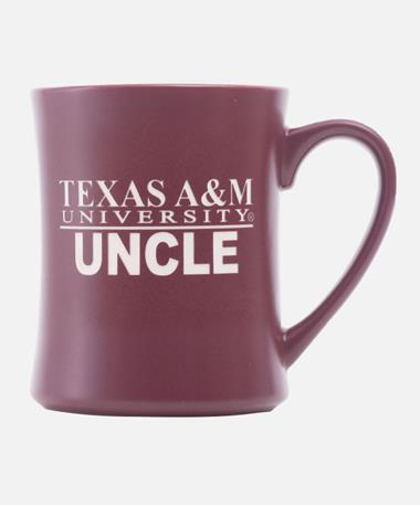 Texas A&M Aggie Family Matte Diner Mug - Uncle Uncle