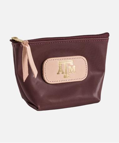 Texas A&M Jon Hart Chico Makeup Bag - Maroon A M Maroon A M